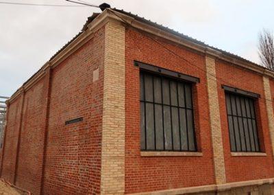Murs extérieurs rénovés