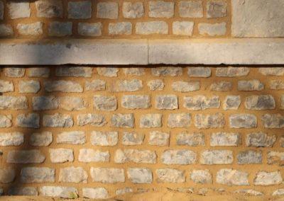 Nouveaux joints mur extérieur