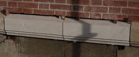 Remplacement de blocs en pierre